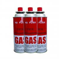 Buy cheap Metal tins refillable aerosol empty spray butane gas can from wholesalers