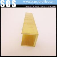 Buy cheap Decorations For Sanitary Ware / Brass Extruding Bathroom Profiles from wholesalers
