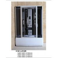 Buy cheap High Tray Luxury FM Radio Steam Shower Cabin from wholesalers