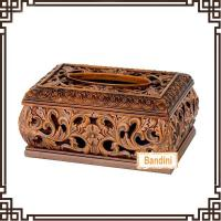 Buy cheap Hot sale facial tissue box design Luxury Resin tissue box Antique resin tissue box A0381E from wholesalers