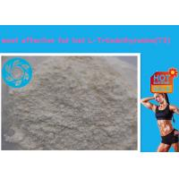 Buy cheap White Raw Powder Fat Burners Supplements Sodium L-Triiodothyronine / T3 from wholesalers