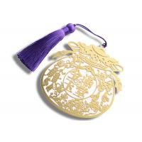 Buy cheap Hollow - Carved Design Metal Decorations Crafts , Zinc Alloy Material Bookmark from wholesalers