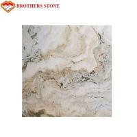 China Transparent Onyx Marble Landscape Painting White Marble Stone For Home on sale