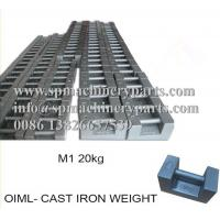 China Scales and balances proof load testing calibration weights M3 cast iron test load weights from china on sale