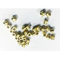Buy cheap Connector Tube CNC Machining Brass Parts , Small Cnc Machined Components from wholesalers