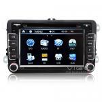 Buy cheap Autoradio for VW Golf Passat Jetta EOS Caddy Touran Tiguan GPS Sat Nav Navigation DVD Player VVW7531 from wholesalers