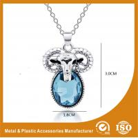 Wholesale Zinc Alloy Stainless Steel Chain Necklace With Sheep Pendant from china suppliers