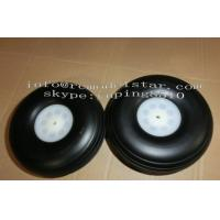 Buy cheap Sponge Wheel / PU Wheel RC Plane Accessories With Aluminum Core from wholesalers