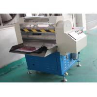 Buy cheap High Safety Rubber Cutting Equipment , Digital Rubber Slippers Cutting Machine from wholesalers