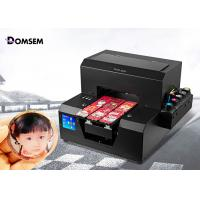 Buy cheap Card Screen UV Flatbed Printing Machine Digital Industrial Small A4 Size 100 Watt from wholesalers
