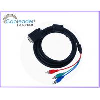 Buy cheap Cableader VGA Monitor Cables Electrical Cable DB 15pin Male to Rca Male Cable from wholesalers