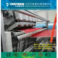Buy cheap PVC composite roof sheet making machine from wholesalers