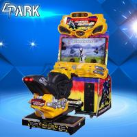 Buy cheap Amusement Park Center Car Racing Machine / FF Motorbike Arcade game Machine from wholesalers