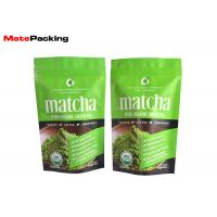 Buy cheap Customized Design Foil Stand Up Pouches for Chai Green Tea 16oz Food Grade from wholesalers