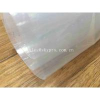 Transparent Sticky Silicone Rubber Sheet Rolls Medical Grade Customized Manufactures