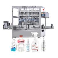 Buy cheap Low Price New Automatic Anticorrosive 4L Viscosity Bottle Detergent/Bleach/Toilet Cleaner Liquid Filling Machine from wholesalers