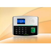 Buy cheap BioID fingerprint sensor and card time attendance system support POE Function from wholesalers