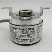 Wholesale HES-25-2MD Rotary Electric Encoder 2500 P/R IP50 Compact Design High Precision from china suppliers