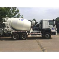 Buy cheap 6x4 8M3 Concrete Mixer tank truck Sinotruk Howo7 New white Hw76 cabin from wholesalers