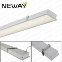 Buy cheap High brightness Aluminum rectangel led recessed linear light Netherland NL led kitchen ceiling lights recessed downlight from wholesalers