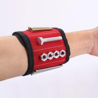 Buy cheap Magnetic Wristband Screw Holder , Customized Magnetic Arm Band For Tools from wholesalers
