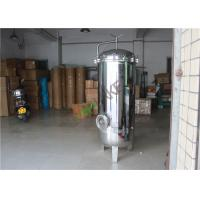Buy cheap Industrial Stainless Steel Multi Cartridge Water Filter Housing Food Grade from wholesalers