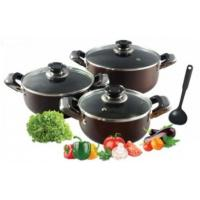 Buy cheap 6 Piece Nonstick Aluminum Cookware Set with Heat Resistant Coating from wholesalers