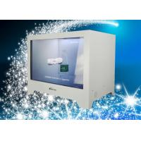 Wall mounted Transparent Display Box High transparency with LED lamps Manufactures