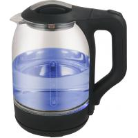 Buy cheap High Borosilicate Clear Glass Electric Kettle 1000W 1500W Cordless Automatic Switch Off from wholesalers