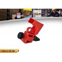 China Miniature Clamp - On Circuit Breaker Lockout  For Switch Electrical Security on sale