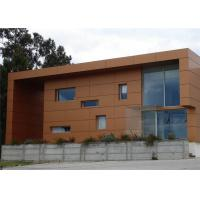 Buy cheap Orange Weather Resistance Facade / Ceiling Aluminum Composite Wall Panels from wholesalers