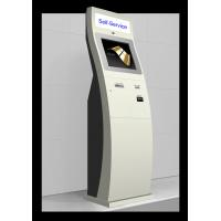 Buy cheap HD Camera Card Dispenser Barcode Scanner Kiosk With Passport Reader from wholesalers