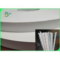 China 100% Biodegradable 30gsm Straw Wrapping Paper For Chopsticks Packaging 30mm 37mm on sale
