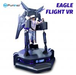 Buy cheap Sheet Metal VR Flight Simulator / Eagle Flight VR Standing Platform With 360 Degree from wholesalers