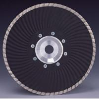 Buy cheap Marble granite Cutting Turbo Wave Diamond cutting Blades with Flange from wholesalers