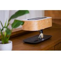 Buy cheap Bluetooth Speaker Wireless Charging LED Desk Lamp with Cherry Bark Covered For IPhone X and 8 from wholesalers