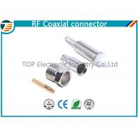 Buy cheap Silver FME Jack Female Crimp Connector Free Hanging For RG174 Cable from wholesalers