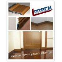 Buy cheap PVC and wood veneer profile laminating machine for door jamb and cabinet from wholesalers