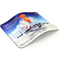 Buy cheap Multi-functional mouse pad rubber sheet with most popular photo design from wholesalers