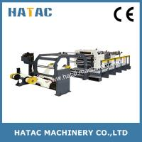 Buy cheap Rotary Blade Paperboard Sheeting Machine,High Speed Cardboard Sheeter Machinery,Roll-to-sheet Cutting Machine from wholesalers