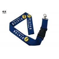 Buy cheap Custom Design Safety Breakaway Id Lanyard For Women , Pretty Visitors Badges Lanyards product
