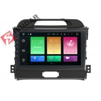Buy cheap Full RCA Output Kia Sportage Sat Nav System 1 Din Bluetooth Car Radio Heat Dissipation from wholesalers