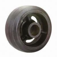 Wholesale Rubber Wheel with Cast Iron Center from china suppliers