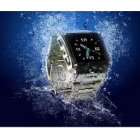 Wholesale Stainless Steel Waterproof Watch Mobile Phone from china suppliers
