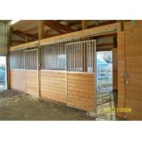 Buy cheap Safety Galvanized Prefabricated Stables Copper Ball For Horses Stable from wholesalers