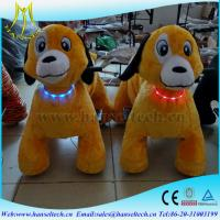 Hansel hot selling battery operated plush animal toy indoor plush electrical animal toy kiddie rides Manufactures