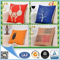 Buy cheap Replacement Custom Decorative Cushion Covers / Sofa Seating Cushion Covers with Cotton from wholesalers
