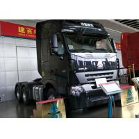 Euro 2 Emission HOWO 6x4 Tractor Truck , 420HP Engine Truck Tractor Head