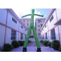 Buy cheap Green Inflatable Advertising Man 20ft Inflatable Wavy Arm Guy With 2 Legs from wholesalers