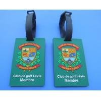 Buy cheap Personalized Club De Golf Levis Member 3D Soft PVC Travel Hang Bag Tags / Name Card Tags For Club Big Event from wholesalers